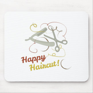 Happy Haircut Mouse Pad