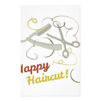 Happy Haircut Stationery