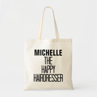 Happy Hairdresser Rhyme Canvas Bag
