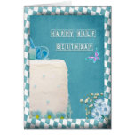 Happy Half Birthday Card
