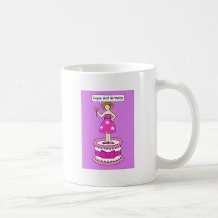 Funky Birthday Cake Coffee Travel Mugs Zazzle
