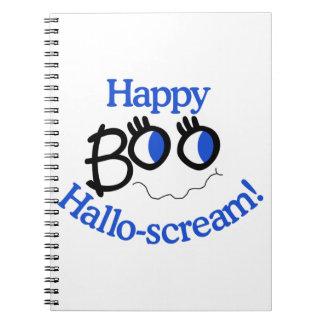 Happy Hallo-scream! Spiral Notebook