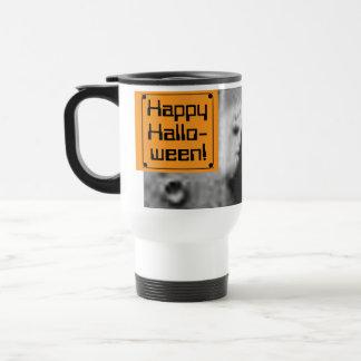 Happy Hallo-ween!-The FACE On MARS-Cydonia Mensae Travel Mug