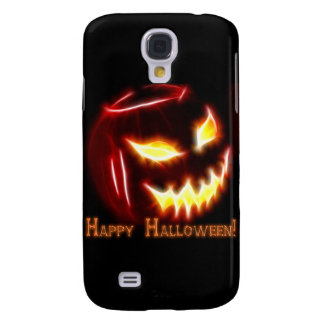 Happy Halloween 1 with text Galaxy S4 Cases
