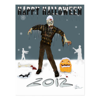 Happy Halloween 2012 Postcard