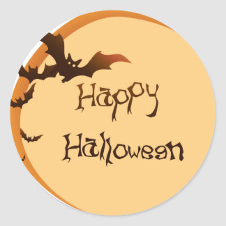 Happy Halloween 2014! Classic Round Sticker