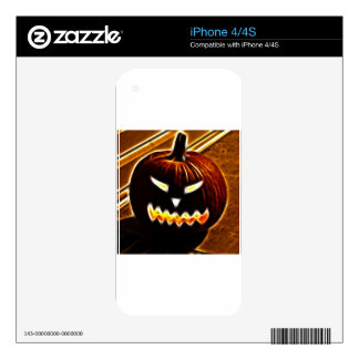 Happy Halloween 2.1 no text Decal For The iPhone 4