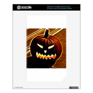 Happy Halloween 2.1 no text Decal For The NOOK Color