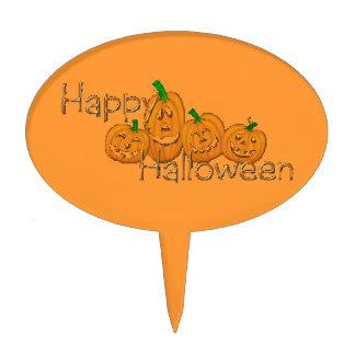 Happy Halloween 2 Cake Topper