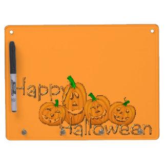 Happy Halloween 2 Dry Erase Board With Keychain Holder