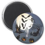 Happy Halloween 2 Inch Round Magnet