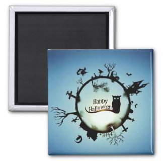 HAPPY HALLOWEEN! 2 INCH SQUARE MAGNET