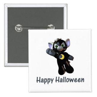 Happy Halloween (2) Pinback Button