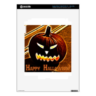 Happy Halloween 2 with text Decals For iPad 3
