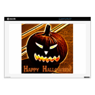 Happy Halloween 2 with text Decals For Laptops