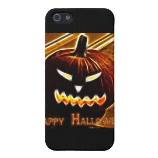 Happy Halloween 2 with text iPhone 5 Case