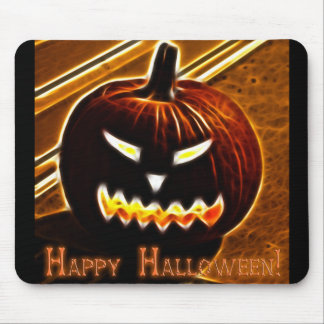 Happy Halloween 2 with text Mouse Pads