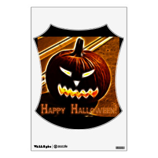 Happy Halloween 2 with text Room Graphic