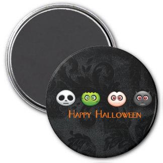 Happy Halloween 3 Inch Round Magnet