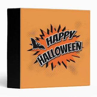 Happy Halloween 3 Ring Binder
