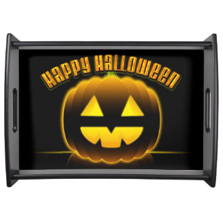Happy Halloween 3 Serving Tray