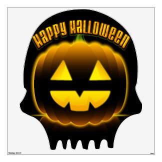 Happy Halloween 3 Wall Decal Options