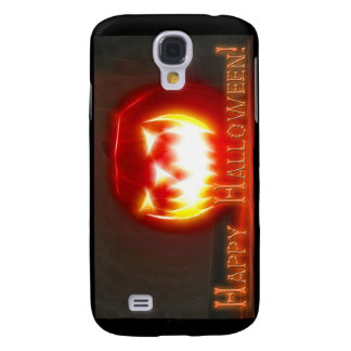 Happy Halloween 3 with text Samsung Galaxy S4 Cover
