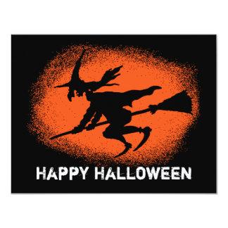 Happy Halloween 4.25x5.5 Paper Invitation Card