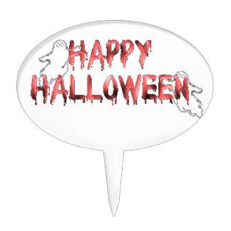 Happy Halloween 4 Cake Topper