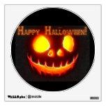Happy Halloween 4 with text Room Decals