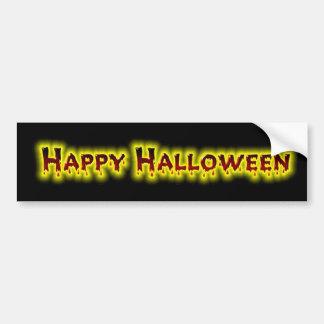Happy Halloween 5 Bumper Sticker