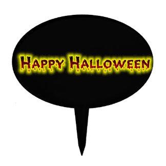 Happy Halloween 5 Cake Topper