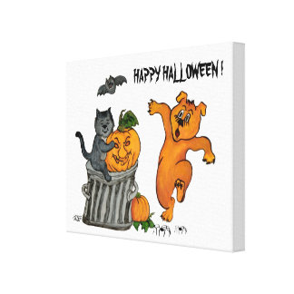 Happy Halloween! 5 Canvas Print