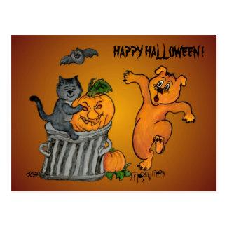 Happy Halloween! 5 Postcard