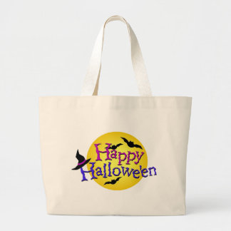 Happy Halloween 6 Large Tote Bag
