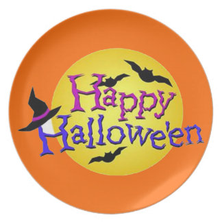 Happy Halloween 6 Dinner Plate