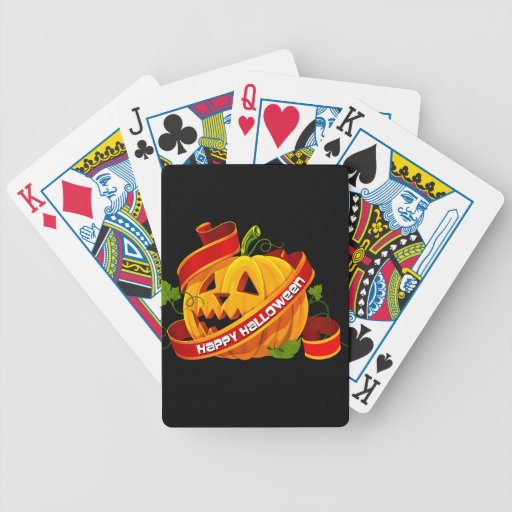 Happy Halloween 6 Playing Cards