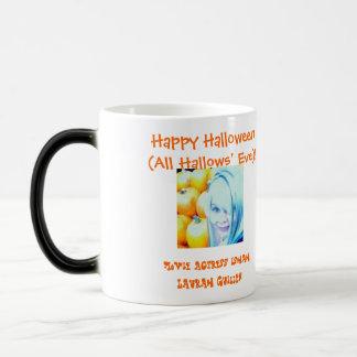 Happy Halloween (All Hallows' Eve)! Magic Mug