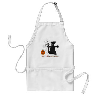 Happy Halloween Apron, with Grim Reaper Adult Apron