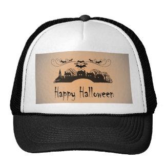 Happy Halloween Art Cap Trucker Hat