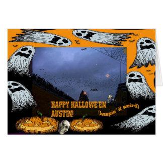 Happy Halloween Austin, TX. Card