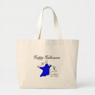 Happy Halloween Autism Awareness Canvas Bags