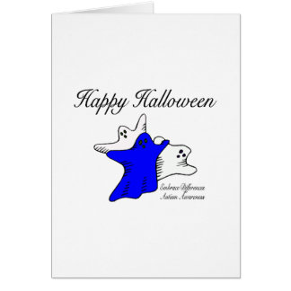 Happy Halloween Autism Awareness Greeting Cards