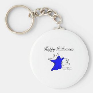 Happy Halloween Autism Awareness Keychain