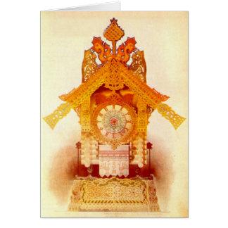 Happy Halloween - Baba Yaga's Hut Greeting Card