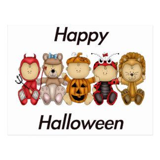 Happy Halloween (babies) Postcard