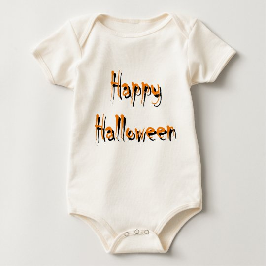 Happy Halloween Baby Clothes Baby Bodysuit