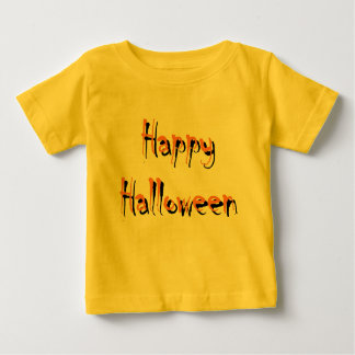 Happy Halloween Baby Clothes Baby T-Shirt