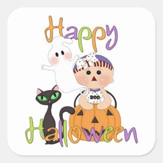 Happy Halloween Baby Friends