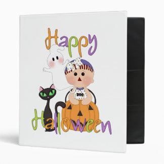 Happy Halloween Baby Friends Binder